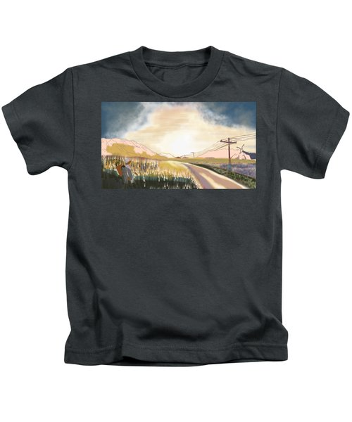 A Country Road Kids T-Shirt