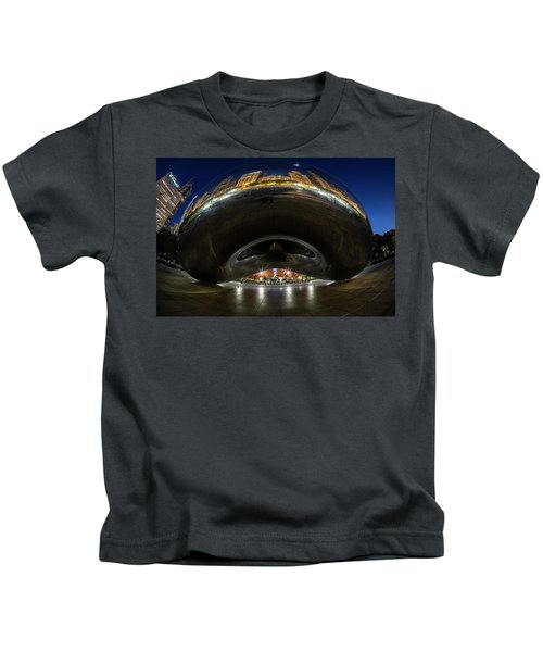 A Fisheye Perspective Of Chicago's Bean Kids T-Shirt
