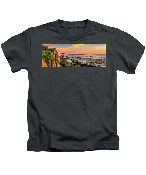 A Nice Evening In The Park - Panorama Kids T-Shirt