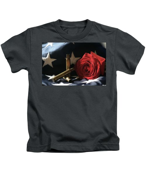 A Patriots Passing Kids T-Shirt