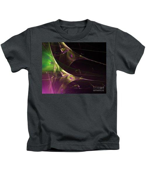 A Space Aurora Kids T-Shirt