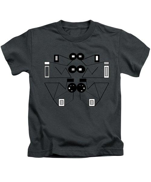 Abstract Geometric Retro 1 Kids T-Shirt