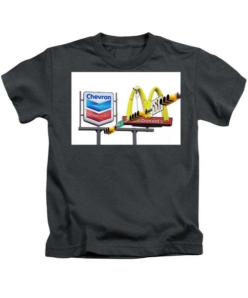 Advertising Intersection Kids T-Shirt