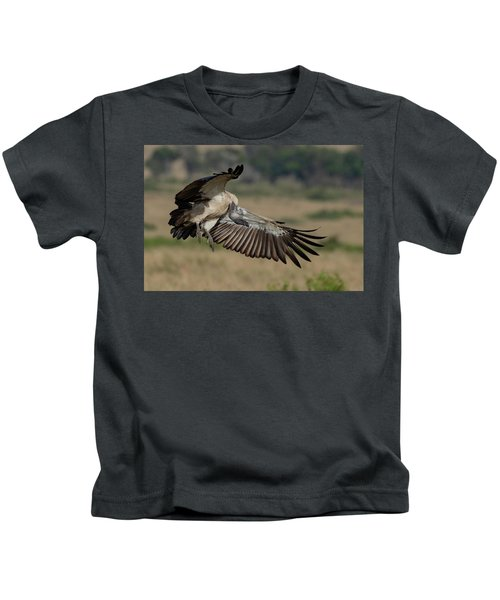 African White-backed Vulture Kids T-Shirt