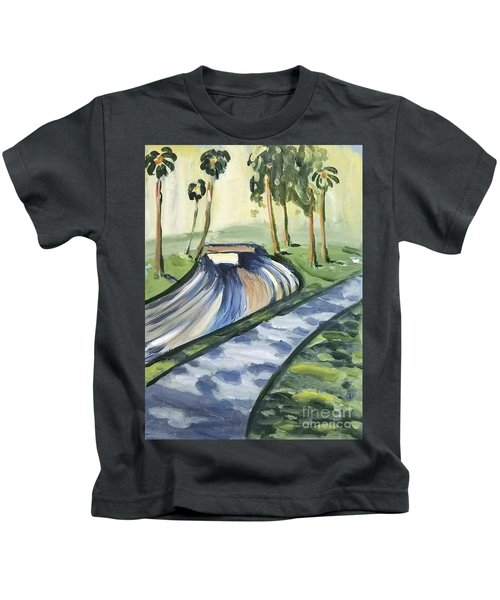 Afternoon In The Park Kids T-Shirt