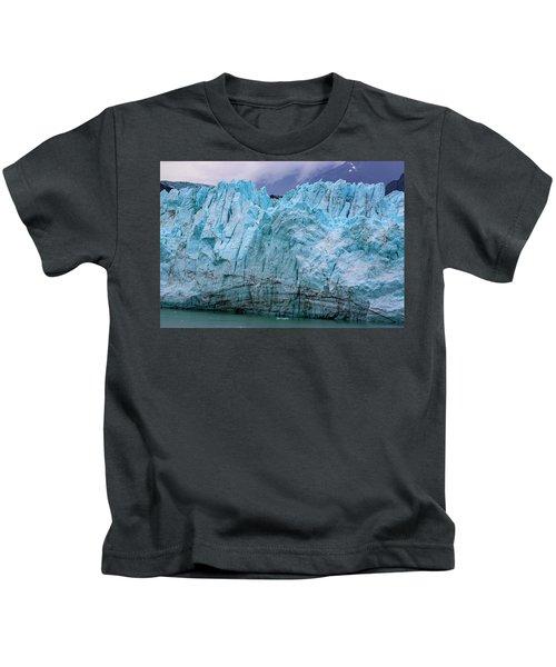 Alaskan Blue Glacier Ice Kids T-Shirt