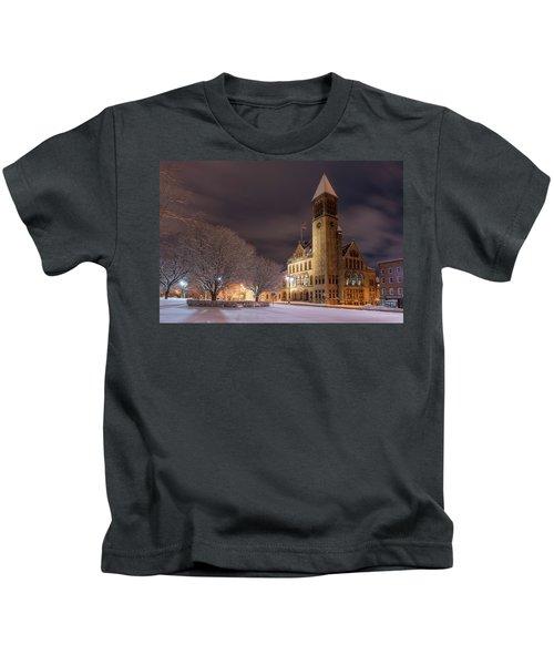 Albany City Hall Kids T-Shirt