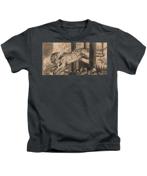 Albert Edelfelt  Vignette To Princess Goldilocks Kids T-Shirt