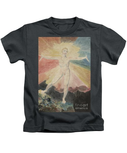 Albion Rose Or The Dance Of Albion Kids T-Shirt