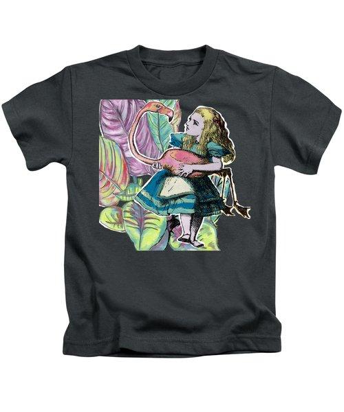 Alice In Wonderland Kids T-Shirt