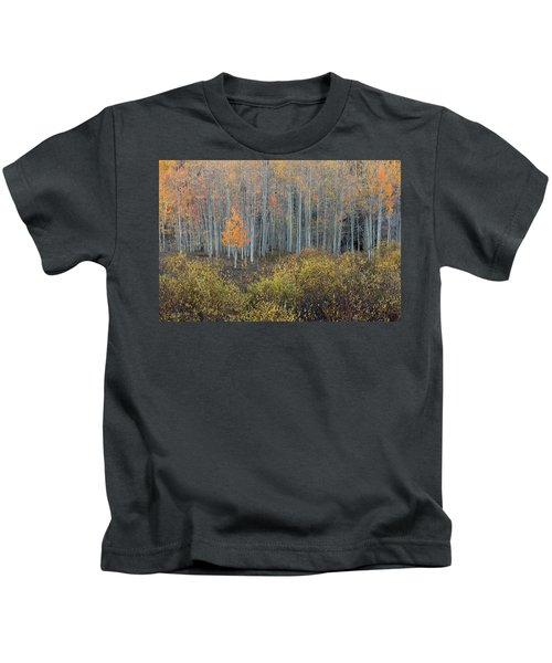 Alone In The Crowd Kids T-Shirt