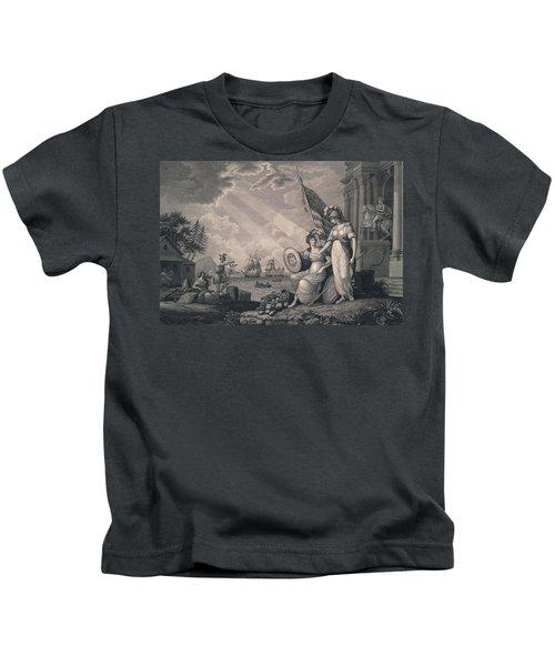 America Guided By Wisdom Kids T-Shirt