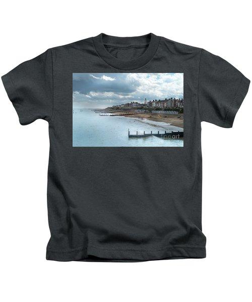 An English Beach Kids T-Shirt