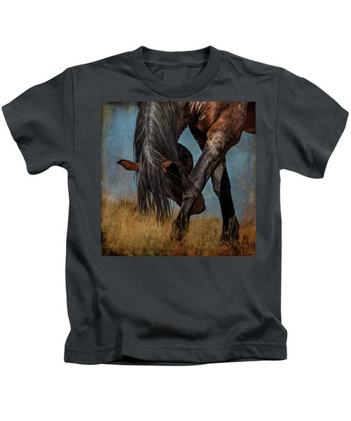 Angles Of The Horse Kids T-Shirt