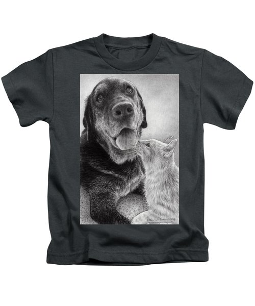 Angus And Linus Kids T-Shirt