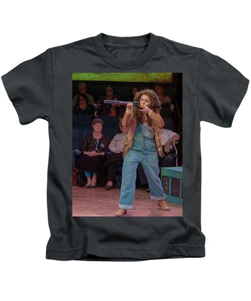 Annie Got Her Gun Kids T-Shirt