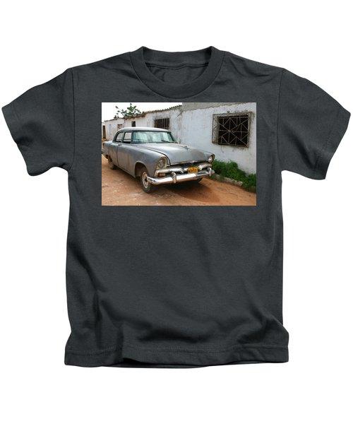 Antique Car Grey Cuba 11300501 Kids T-Shirt