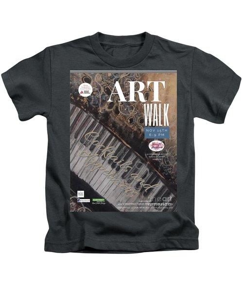Artwalk Art Show Scottsdale  Kids T-Shirt