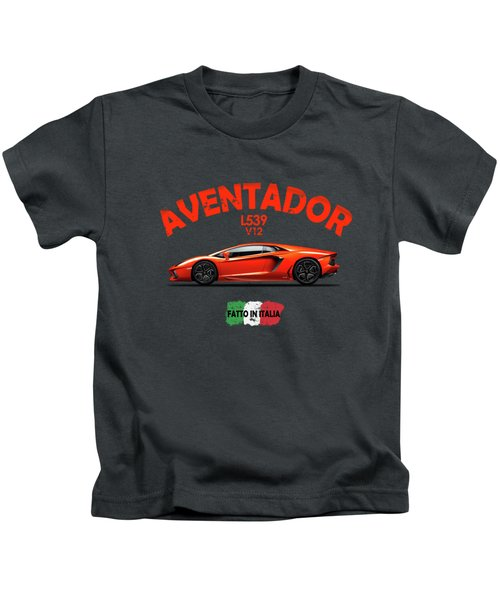 The Lamborghini Aventador Kids T-Shirt