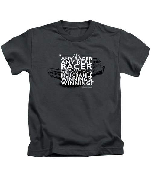 Ask Any Racer Kids T-Shirt