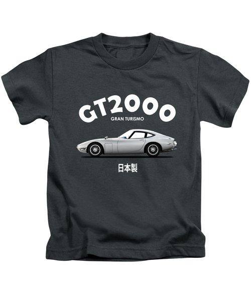 The 2000gt Kids T-Shirt