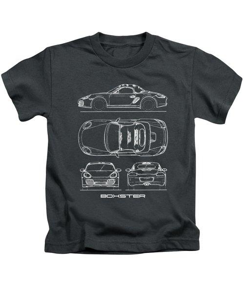 The Boxster Blueprint Kids T-Shirt