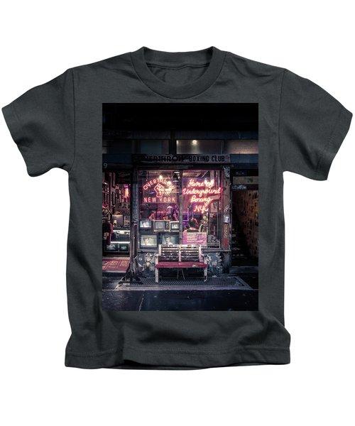 Underground Boxing Club Nyc Kids T-Shirt