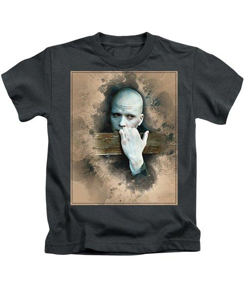 Flanery As Powder Watercolor  Kids T-Shirt