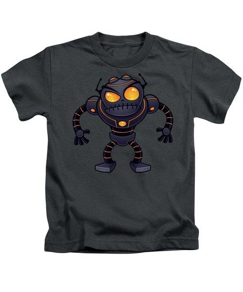 Angry Robot Kids T-Shirt