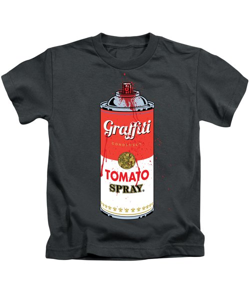 Tomato Spray Can Kids T-Shirt