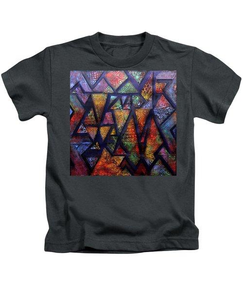 Attractive Mosaic  Kids T-Shirt