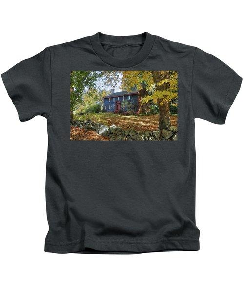 Autumn At Short House Kids T-Shirt