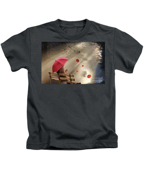 Autumn In Silence Kids T-Shirt