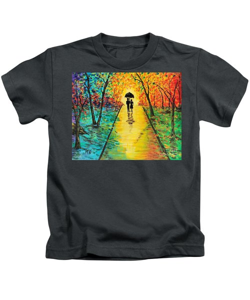 Autumn Walk Kids T-Shirt