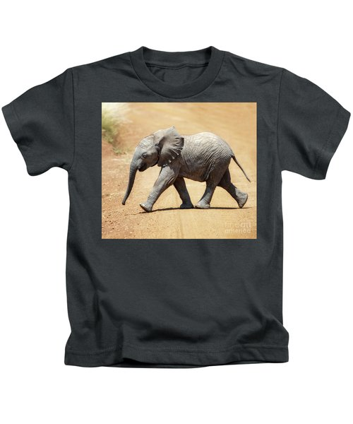 Baby African Elephant Kids T-Shirt
