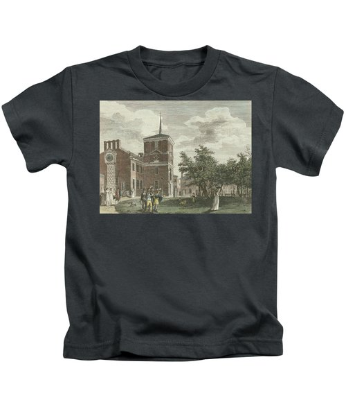 Back Of State House Kids T-Shirt