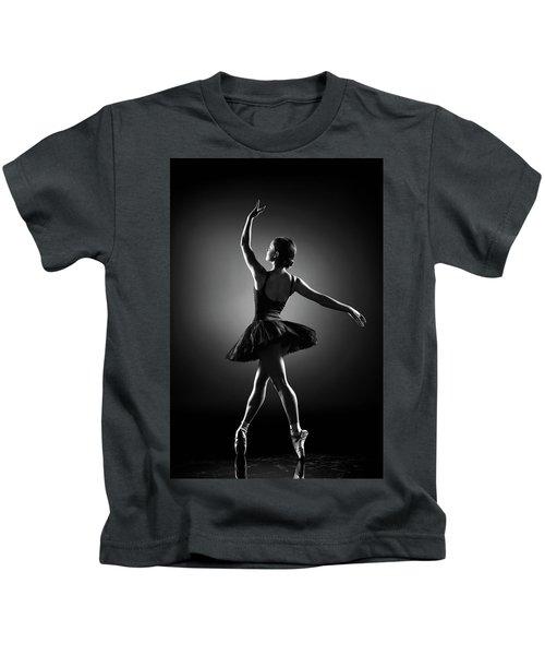 Ballerina Dancing Kids T-Shirt