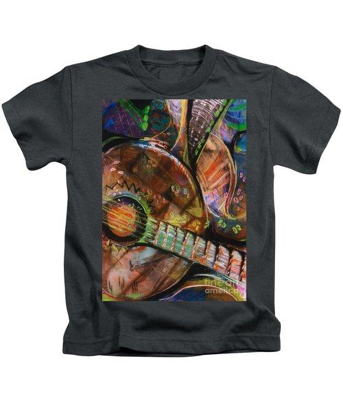 Banjos Jamming Kids T-Shirt