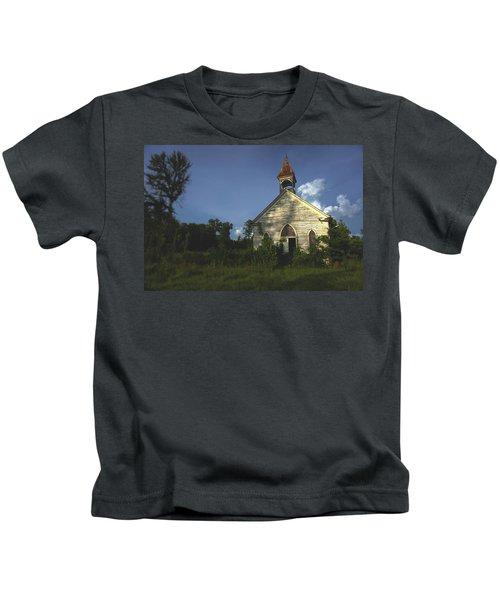 Bats In The Belltower Kids T-Shirt