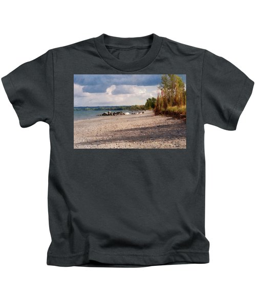 Beach Storm Kids T-Shirt