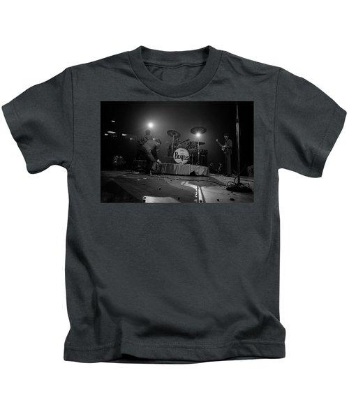Beatles First American Concert - British Invasion Begins 1964 Kids T-Shirt