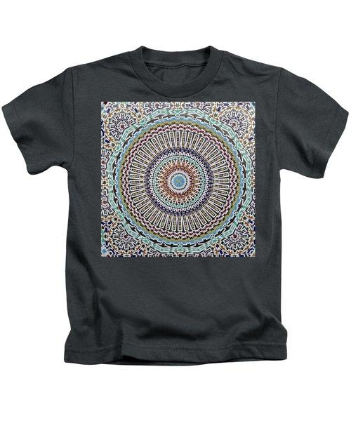Beautiful Infinity Desgn Mosaic Fountain Kids T-Shirt