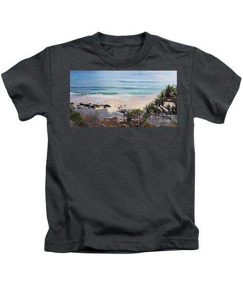 Beautiful Noosa Beach  Kids T-Shirt