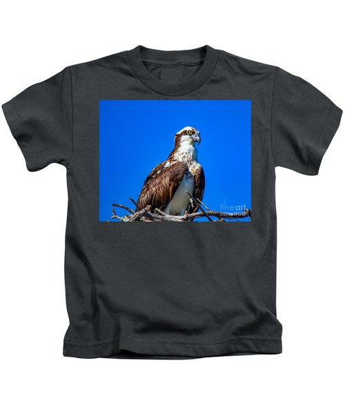 Beautiful Osprey Kids T-Shirt