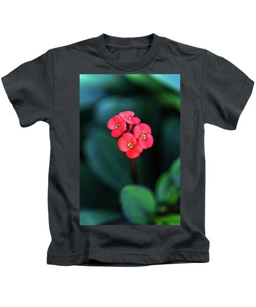 Beautiful Summer Flowers Kids T-Shirt