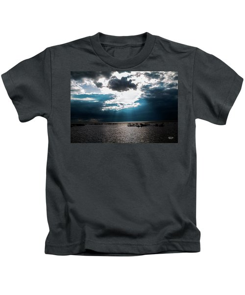 Beginning Of The End Of The Day Kids T-Shirt