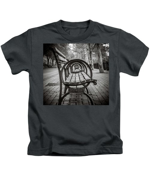 Bench Circles Kids T-Shirt