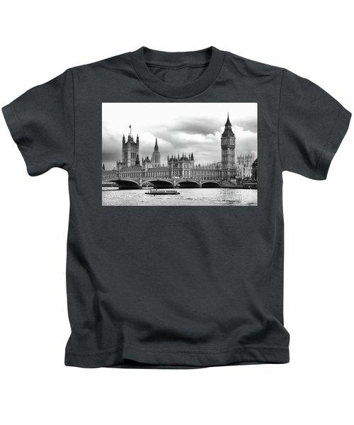 Big Clock In London Kids T-Shirt