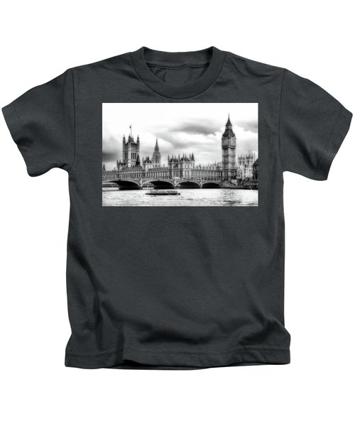 Big Clock In London Soft Kids T-Shirt