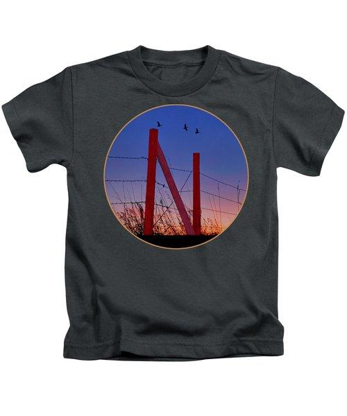 Big Red - Nebraska - Transparent Kids T-Shirt
